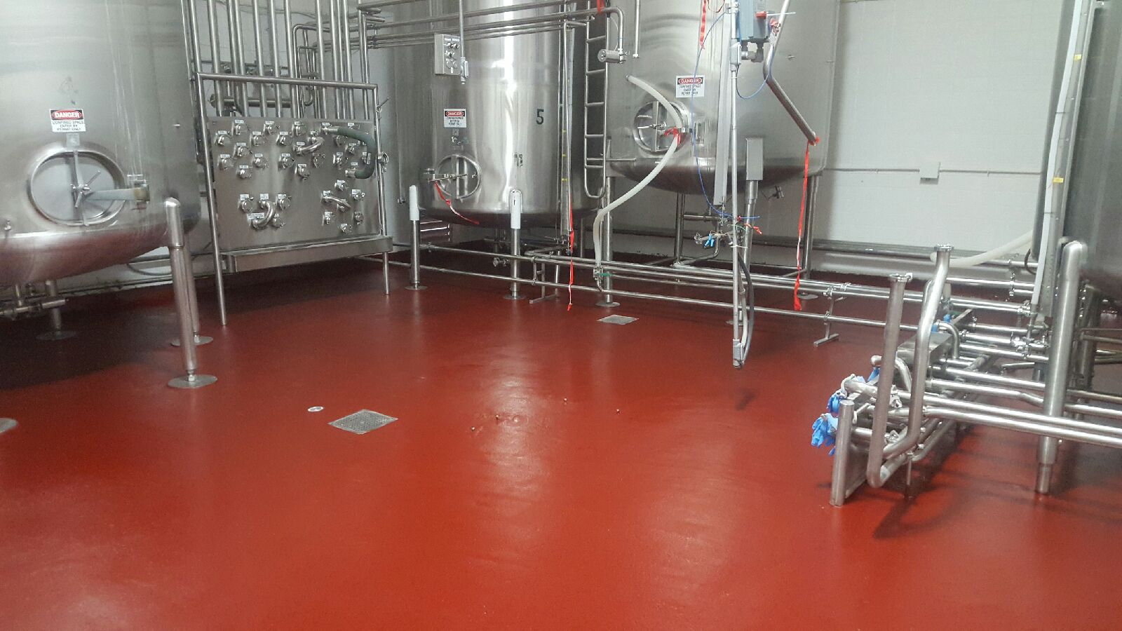 Food Beveradge Tank Area Danek Flooring Inc